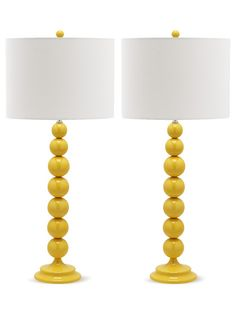 Jenna Table Lamps (Set of 2) by Safavieh at Gilt