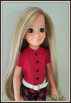 Ideal Crissy doll .. Tressy ... re-root, custom eyes, repaint, re-blush all by Robyn Parker:   https://www.facebook.com/IdealCrissyDollFamilyReRoots/