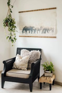 Grazing Horses Vintage Inspired Tapestry - Aimee Weaver Designs Barn Wood Signs, Reclaimed Barn Wood, Wooden Signs, Wood Artwork, Making Signs On Wood, Bedroom Signs, Room Decor, Wall Decor, Empty Wall