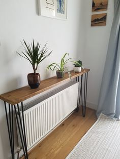 Narrow Rustic Console Table with Hairpin Legs Scaffold Board Hallway Table Rustic Hallway Table, Rustic Console Tables, Narrow Console Table, Entryway Wall Decor, Hallway Decorating, Entryway Tables, Interior Decorating, Narrow Entryway, Rustic Table