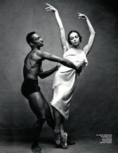 In a Dance (Vogue Russia)