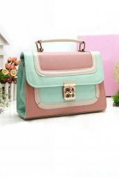 Cosmopolitan color pastel bolso Block