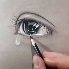 Amazing Realistic Drawings ✍️😍 Amazing Realistic Drawings ✍️😍,Zeichenkunst und Malerei Best drawing and sketching ideas. Amazing Drawings, Realistic Drawings, Easy Drawings, Amazing Art, Drawings Of People, Realistic Eye, Cool Art Drawings, Cute Animal Drawings, Pencil Art Drawings