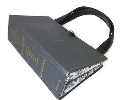 Book Purse  Vintage 1968 Anthology of English by retrograndma, $69.99