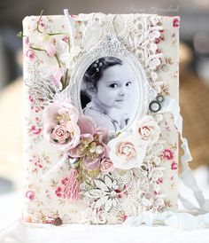 Shabby Chic Note Book by Irina Gerschuk from Hobby and Life ~ Shabby Chic.