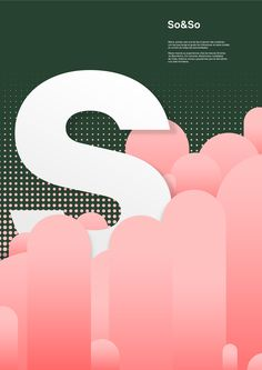 1 year of poster design on Behance