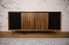 Like the Model One before it, the Wrensilva Standard One Stereo Console packs modern hi-fi components inside a classic design. Within its handcrafted wooden frame, you'll find a custom integrated 300 WPC Amp hooked to a pair of custom 8...
