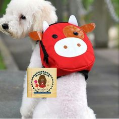 Red cow bag Available size S  Price $24