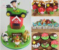 Mexican Fiesta Birthday Party, Party Fiesta, Barnyard Party, Farm Party, Farm Birthday, Boy Birthday Parties, Birthday Traditions, Ideas Para Fiestas, Super Party
