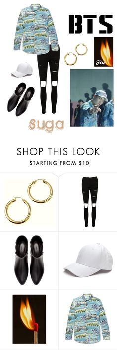 """Suga"" by lyly15psr on Polyvore featuring Zara, Yves Saint Laurent, men's fashion et menswear"