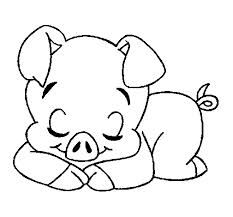 pig colouring pages - Google Search