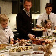 Neil Patrick Harris And David Burtka Share Adorable Family Thanksgiving Photos - Yahoo News