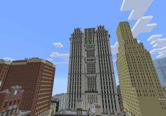 New York City (Mini) [Creation]   Minecraft PE Maps