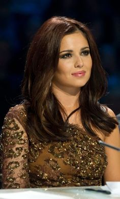 Cheryl Cole Brunette Hairstyle