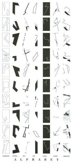 Daniel Liebskind // RP // Conceptual, Ideas, Abstract, Deconstructivism