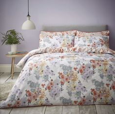 Fox and Brooke Print 300 TC Duvet Cover Set Fox and Brooke Size: Double Best Bedding Sets, Bedding Sets Online, Queen Bedding Sets, Luxury Bedding Sets, Duvet Sets, Duvet Cover Sets, Watercolor Bedding, Velvet Duvet, Hotel Collection Bedding
