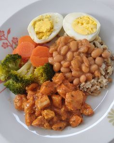 A imagem pode conter: comida Healthy Recepies, Sports Food, Clean Eating Recipes For Dinner, Food Goals, Health Eating, Food Hacks, Good Food, Cooking Recipes, Nutrition