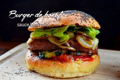 burger-de-boeuf-sauce-béarnaise