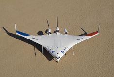 X-48B; 1st Flt 20 Jul 2007; No. Built 2