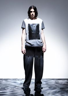 Natural Landscapes - Natural landscapes are the main inspiration behind this Martin Across collection that consists of graphic and sculptural menswear pieces. Fall Winter 2014, Futuristic, Normcore, Menswear, Mens Fashion, Sexy, Inspiration, Shopping, Clothes