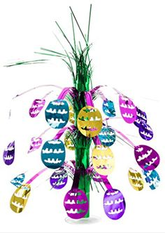 Easter Egg Cascade Centerpiece Party Accessory 1 count 1Pkg -- Click on the image for additional details.