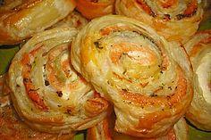 Blätterteig - Lachs - Schnecken (Rezept mit Bild) | Chefkoch.de