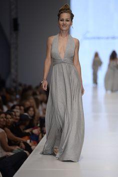 A super lovely dress by Natalia Jaroszewska! (presented by a great singer - Marika)