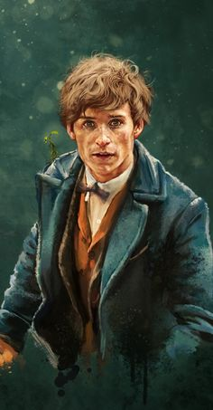 -Fantastic Beasts: Newt and Pickett by Silvaticus on DeviantArt - Fantastic Beast.- Fantastic Beasts: Newt and Pickett by Silvaticus on DeviantArt – Fantastic Beasts: Newt and Pickett by Silvaticus – <br Images Harry Potter, Arte Do Harry Potter, Harry Potter Love, Harry Potter Universal, Harry Potter World, Fantastic Beasts Fanart, Fantastic Beasts And Where, Fantastic Four Movie, Harry Potter Funnies