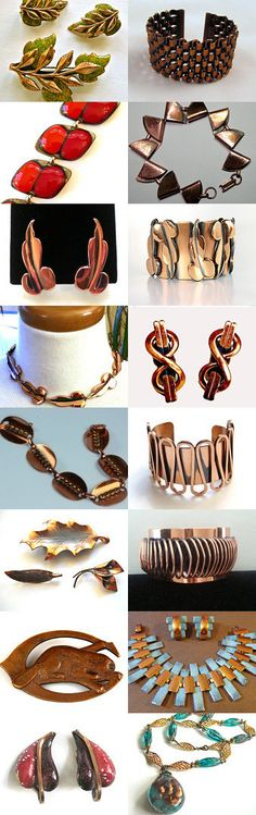 Treasures From The Copper Mines EcoChic by Gena Lightle on Etsy--Pinned with TreasuryPin.com