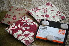 Little Corner of Randomness: Laminate Sample Coasters New Crafts, Crafts To Sell, Arts And Crafts, How To Make Coasters, Diy Coasters, Coaster Crafts, Wood Sample, Tile Crafts, Little Corner