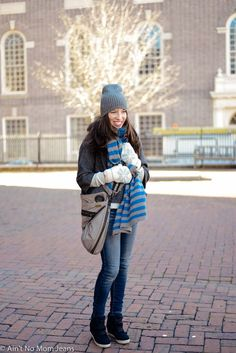 Wedge sneakers: the best mom shoe ever? Love her blog btw.