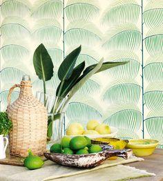 Manila Wallpaper by Sanderson | Jane Clayton