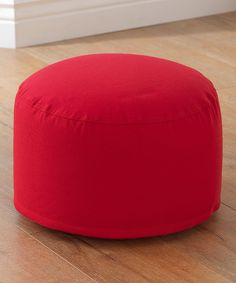 Look at this KidKraft Red Pouf on #zulily today!
