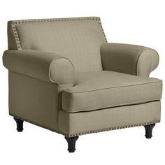 Carmen Chair - in Flax
