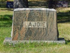 Tombstone Tuesday - Mary LaJoie nee Villers #genealogy