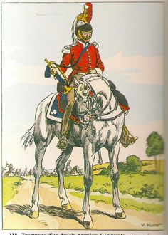 French; Trumpeter of 1st to 6th Cuirassier Regts, Tenue de Campagne