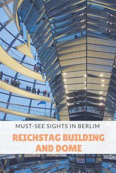 Visitar o Reichstag em Berlim é um passeio imperdível, seja fazendo a visitaçãoàcúpulado parlamento como a visita guiada ao prédio. Ambos gratuitos!  Veja como