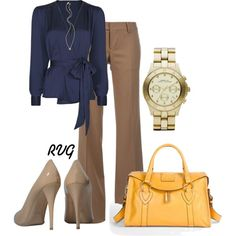 Bladed Gold - Polyvore