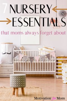 Make sure you have everything you will need for your baby in their nursery before they get here! Get your nursery checklist here. Whether it's for a baby boy, baby girl, or a gender neutral nursery! You will not want to forget these essentials for your nursery! #nursery #babygirl #babyboy #baby #newbaby #newborn Girl Nursery, Nursery Decor, All About Pregnancy, Nursery Organization, Preparing For Baby, Family Organizer, Nursery Neutral, Baby Hacks, Baby Boy Nurseries
