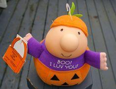 Ziggy Boo! I Luv You! Halloween Plush Tom Wilson 1990 Purple Pumpkin    eBay