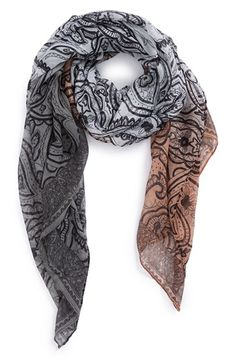 BP. Ombré Paisley Print Scarf available at #Nordstrom