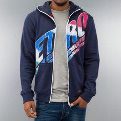 Outfitters Nation Zip Hoodie blau