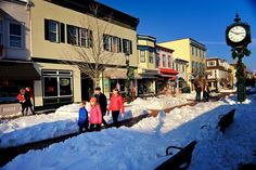 Snowy winters in Cape May. Cape May Point, Ocean City, Jersey Cape, Cape May County, New Jersey