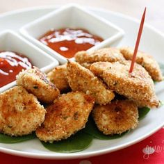 skinny mom connections partner skinnytaste recipe for healthy baked chicken nuggets