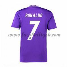 La Liga Fussball Trikots Real Madrid 2016-17 Ronaldo 7 Auswärtstrikot Kurzarm
