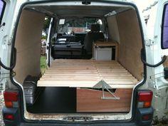 Bildergebnis für Camper or Campervan Conversion Unit , VW T4, T5, Renault Trafic, Mercedes Vito