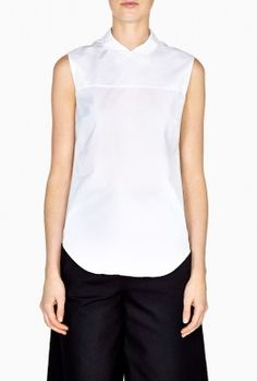 Zip Back Shirt by Victoria Beckham Denim