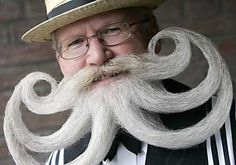 Willi Chevalier, World's longest moustache and beard