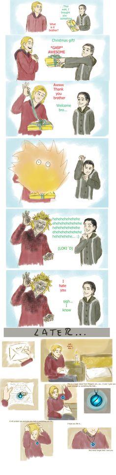 Thor and Loki: Christmas Present(s)