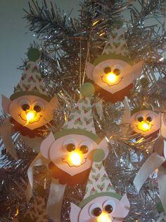 Elf tea light ornament